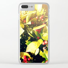 Berry Shine Clear iPhone Case