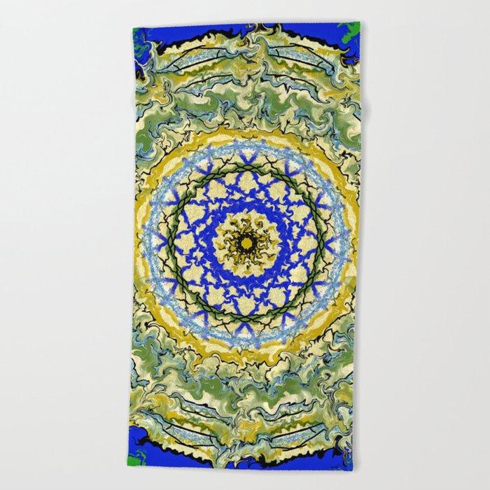 Mandala No.1 Beach Towel