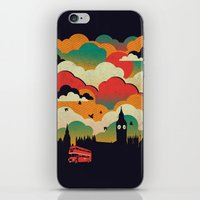 london iPhone & iPod Skins featuring London by The Child