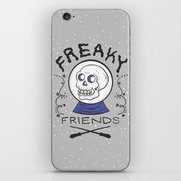 Freaky Friends iPhone Skin