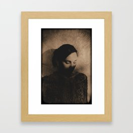 In Shadows Framed Art Print