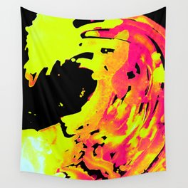 Solar Flare Wave Wall Tapestry