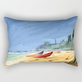 Puerto Rico Maunabo Beach Rectangular Pillow