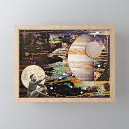 Reaching for Jupiter Framed Mini Art Print