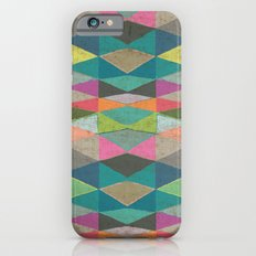 Colorblock Tribal Triangle Pattern Slim Case iPhone 6s