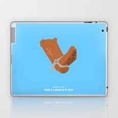 THERE'S A SNAKE IN MY BOOT (Toy Story) Laptop & iPad Skin