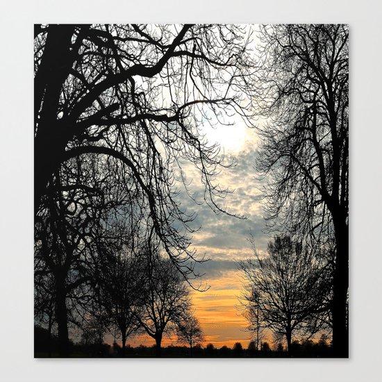 Calm Before An Evening Storm Canvas Print