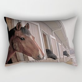 Regal Duke and Friends Rectangular Pillow