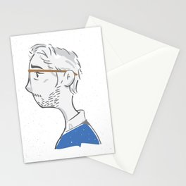 Portrait in Melancholia Stationery Cards