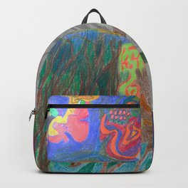 A Good Witch from The Rainbow Coral River Forest in Another World Backpack