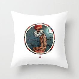 Tribes of our lives Throw Pillow