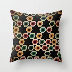 pentagons Throw Pillow