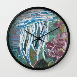 Jellyfish, beautiful water world decorate your home or office and be reminded of the summer Wall Clock