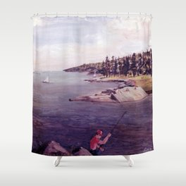 Halifax, Nova Scotia, CANADA                              by Kay Lipton Shower Curtain