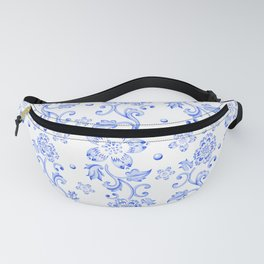 Chinoiserie Calico Fanny Pack