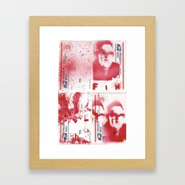 FIM - KISSINGER GONE POSTAL Framed Art Print