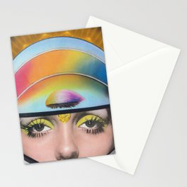 Intergalactic Girl Stationery Cards