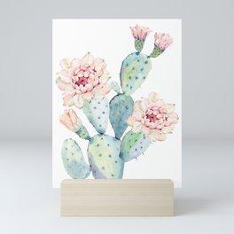 The Prettiest Cactus Mini Art Print