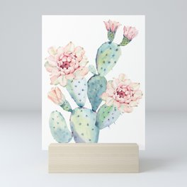 The Prettiest Cactus Mini Art Print