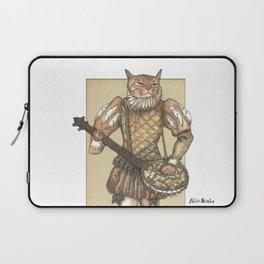 Banjo Cat Laptop Sleeve