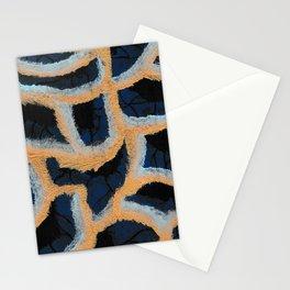 Royal Wave Stationery Cards