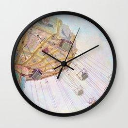 Summer Swings Wall Clock