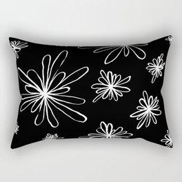 Energy Flowers Reverse Rectangular Pillow