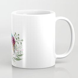 Happy Spring Giraffe Coffee Mug