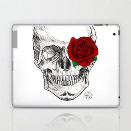 Rose Skull Laptop & iPad Skin