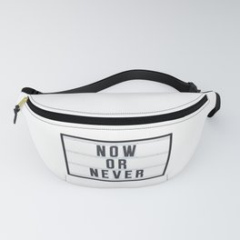 Now or Never Fanny Pack