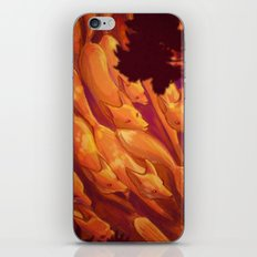 FLIGHT OF THE FOXES iPhone & iPod Skin