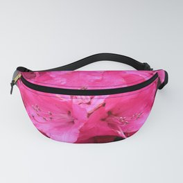 Rhododendron Pink Blooms Fanny Pack