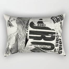 ouro Rectangular Pillow