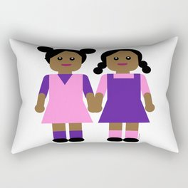 Sisters Rectangular Pillow