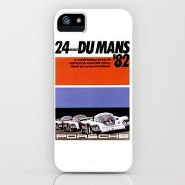 Le Mans 1982, 24hs Le Mans, 1982, original vintage poster iPhone Case