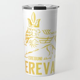 Erebuni Yerevan #society6 #decor #buyart #artprint Travel Mug
