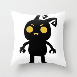 owo Heartless Throw Pillow