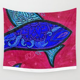 FISH2 Wall Tapestry