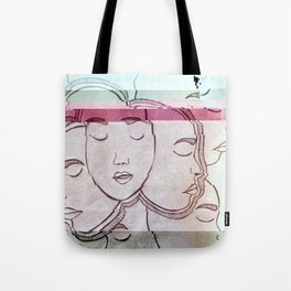 GLITCH FACE(S) Tote Bag
