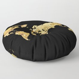 The World is Golden Floor Pillow