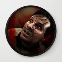 moriarty Wall Clocks featuring Moriarty by addigni