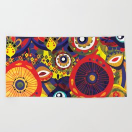 I will be protected (Matiasma) Beach Towel