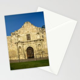 Empty Alamo Stationery Cards