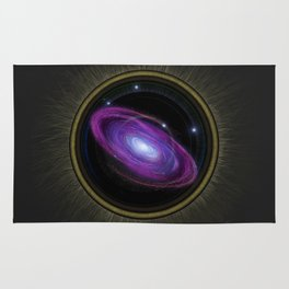 Space Travel - Painting Rug