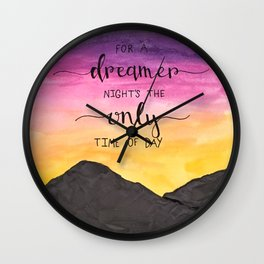 In Santa Fe Wall Clock