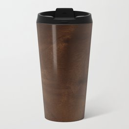 walnut textile natural wood Travel Mug