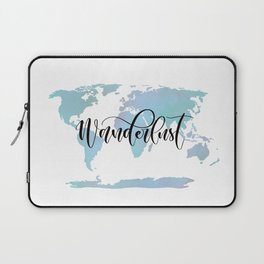 Wanderlust (blue/lilac) Laptop Sleeve