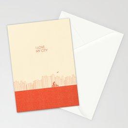 I love my City Stationery Cards