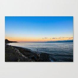 vancouver island sunset Canvas Print