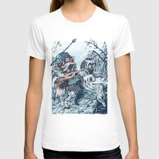 Sir Didymus SMALL Womens Fitted Tee White